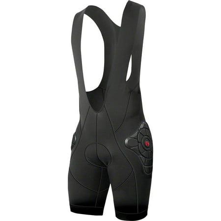 G-Form Pro-B Men's Bib Shorts with Chamois: Black SM