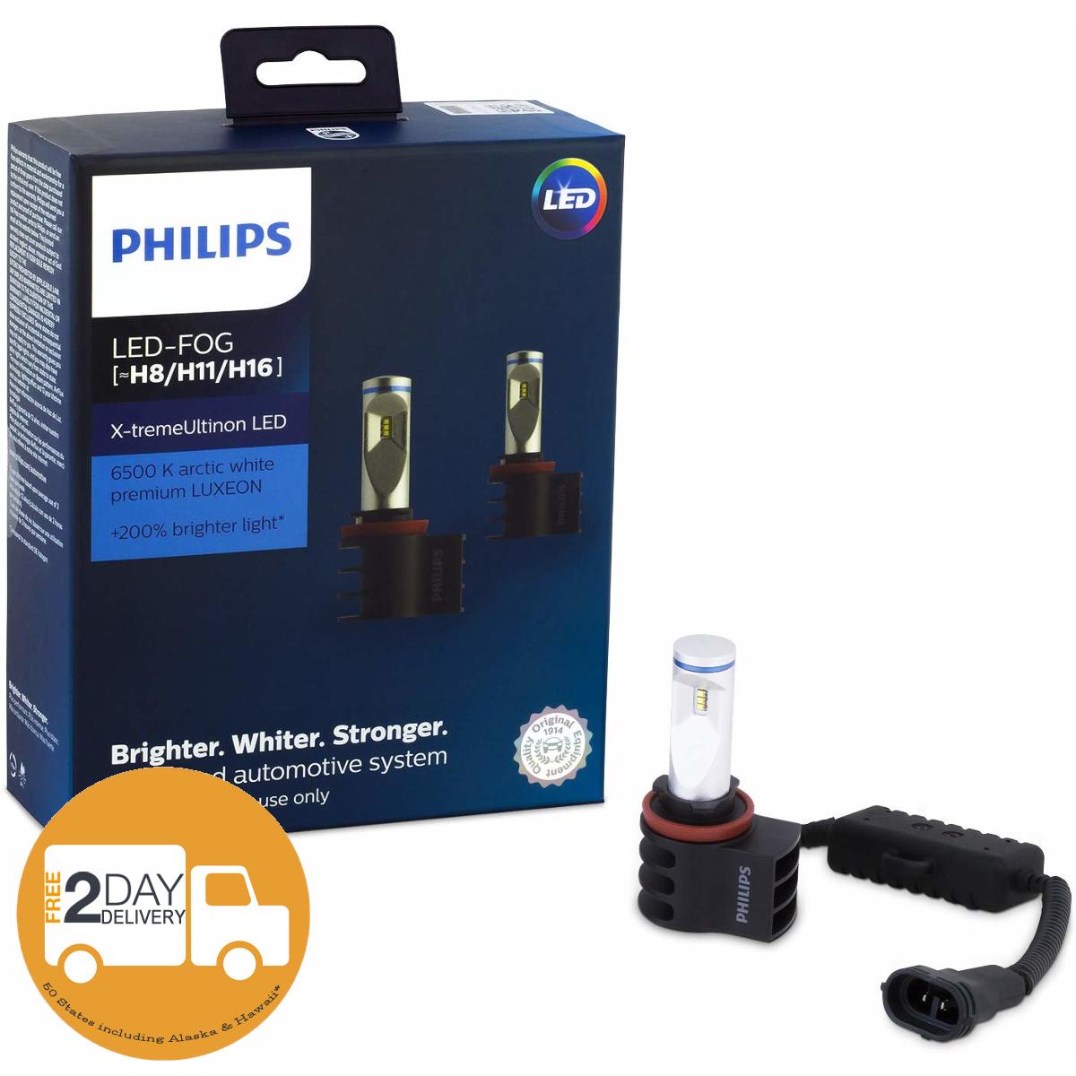 Philips LED X-Treme Vision Fog Light Kit