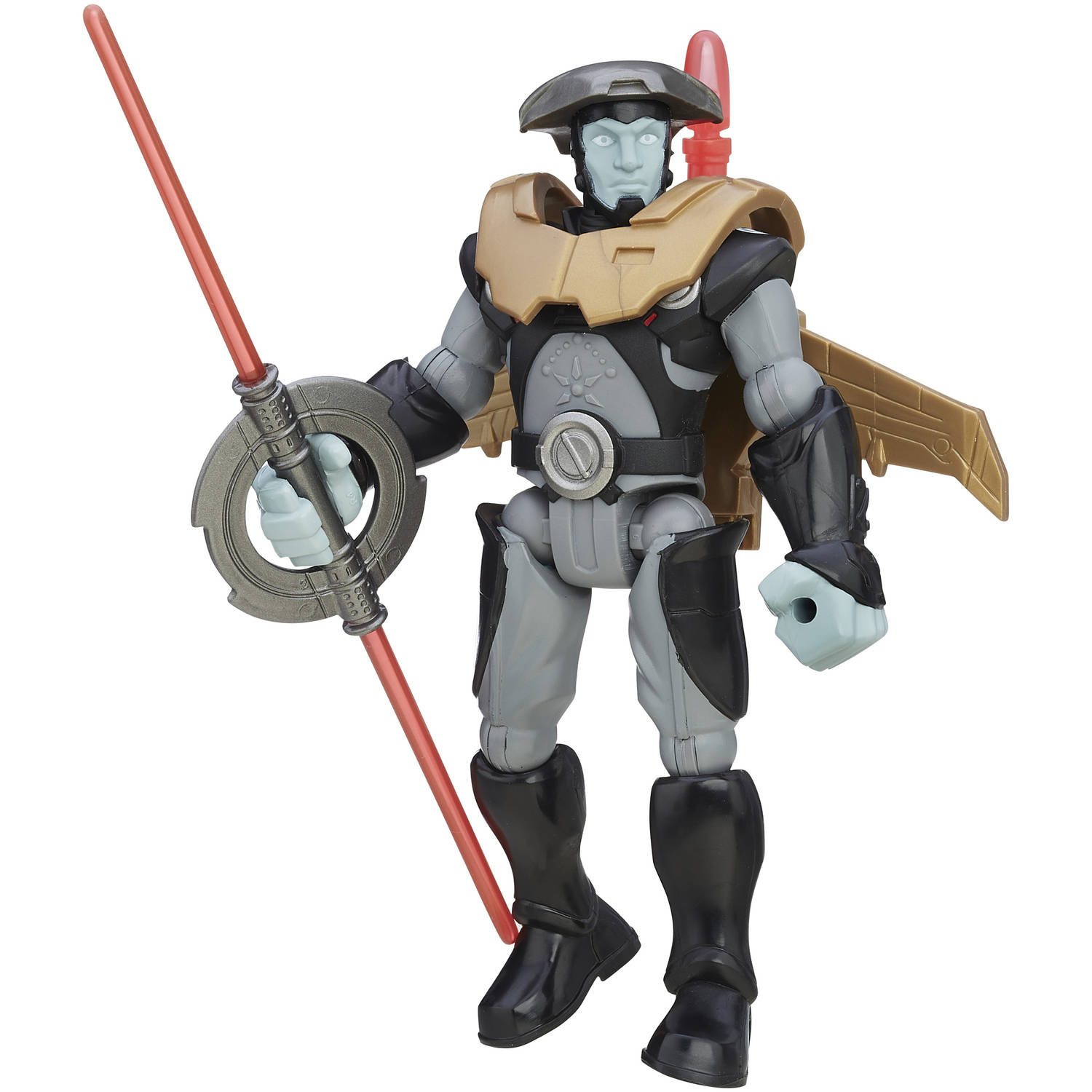 Star Wars Hero Mashers Rebels The Inquisitor Deluxe Figure