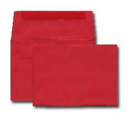 A7 Invitation Envelope - Astrobright - 24# ReEntry Red (5 1/4 x 7 1/4) - Announcement Envelope Series (Pkg of 100)
