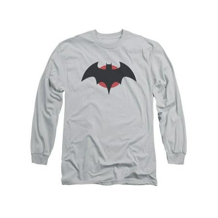 Justice League Of America DC Thomas Wayne Batman Costume Adult L-Sleeve T-Shirt