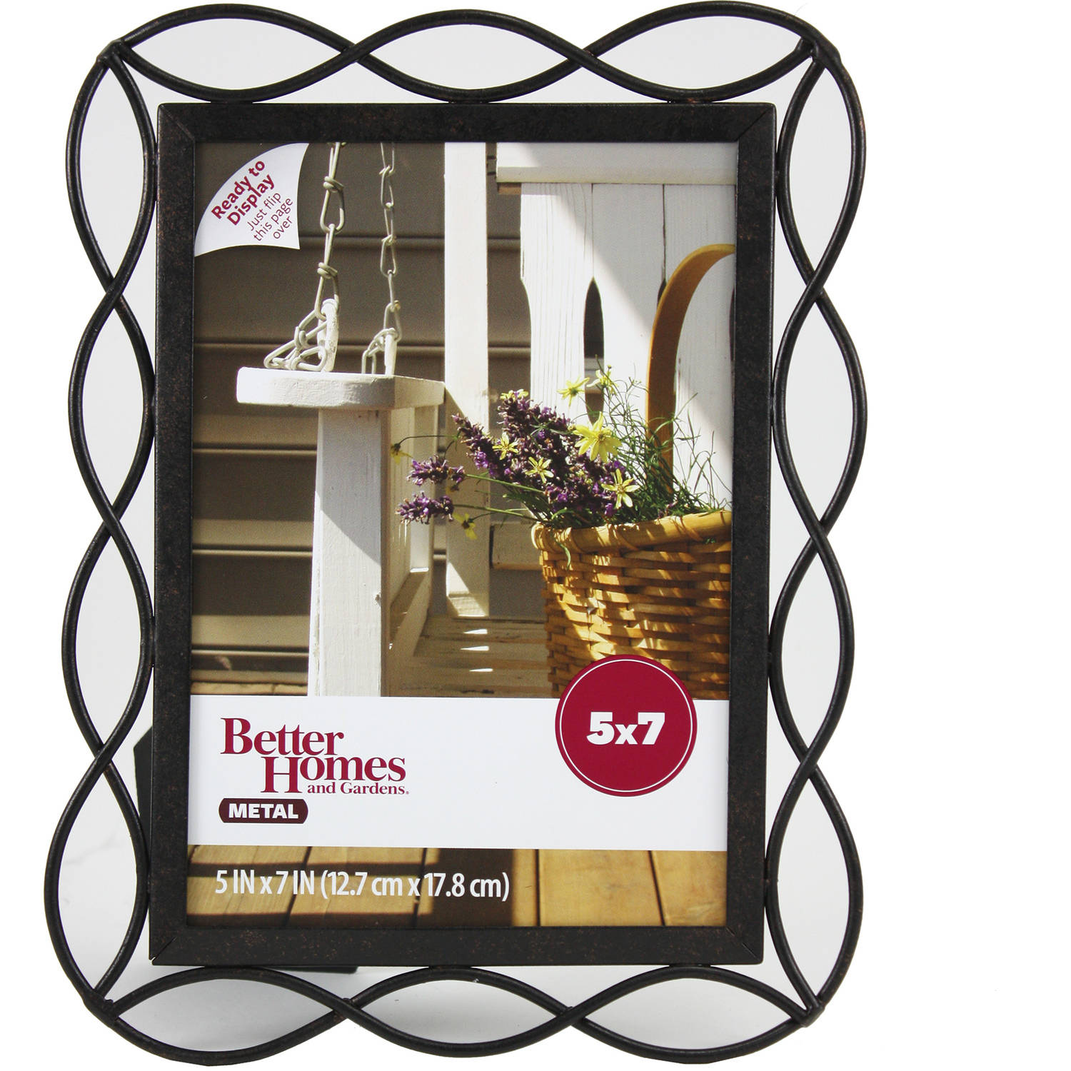 Better Homes and Gardens 5x7 Photo Frame, Tuscan Bronze Finish