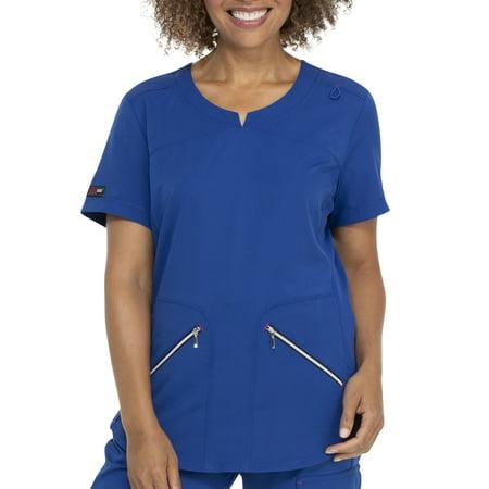 Scrubstar Women's Premium Collection Active V-Neck Scrub Top