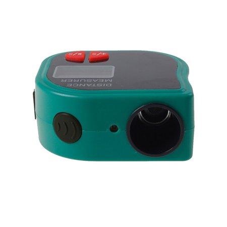 Laser Tools (18M Mini Ultrasonic Digital Tape Measure Laser Range Finder Distance Meter Laser Pointer Rangefinder Level Tool Measurer Area Yellow)