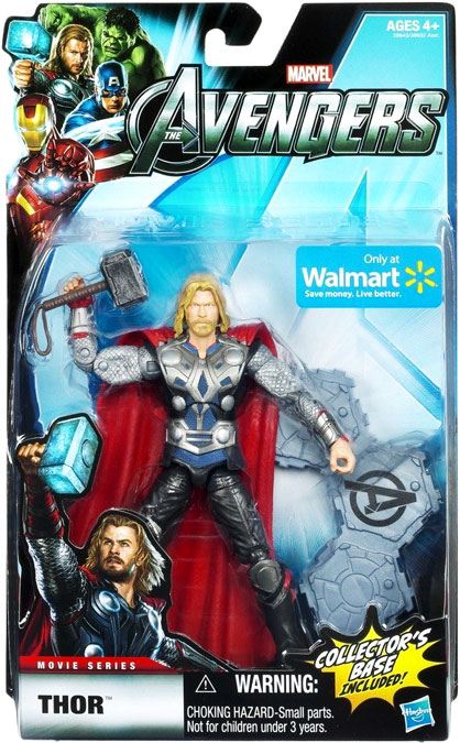 Marvel Avengers Thor Action Figure by Hasbro