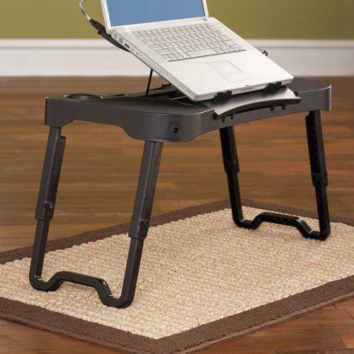 Delightful Mainstays EZ Fold Laptop Table
