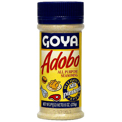 Goya Adobo Without Pepper, 8 oz (Pack of 24)