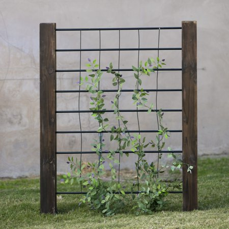 Coral Coast Guthrie 3-ft. Wood and Steel Trellis
