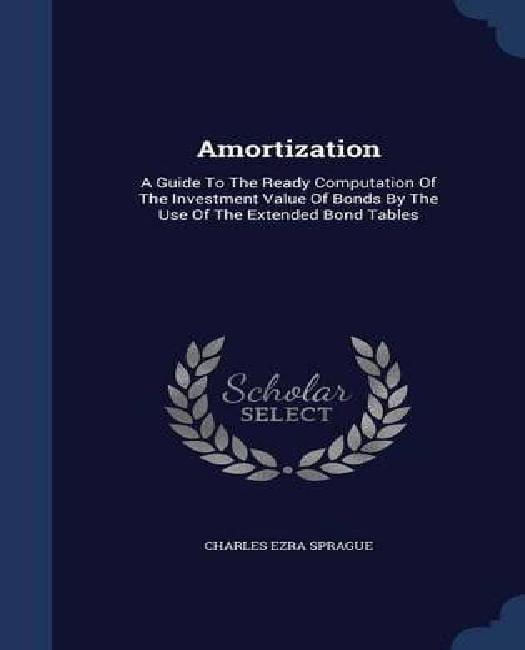 amortization computation