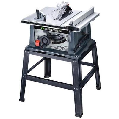 Genesis Table Saw with Stand by