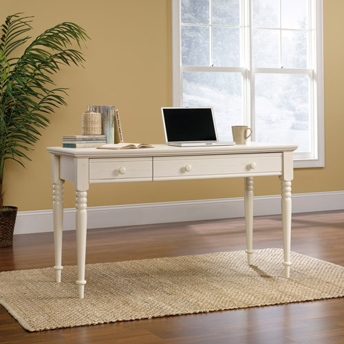 Sauder Harbor View Writing Desk, White