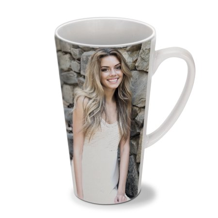 - Latte Photo Mug, 17 oz