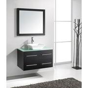 MS-565 Marsala 35-in Single Sink Bathroom Vanity