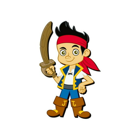 Magnet - Disney - Jake Pirate Soft PVC Licensed New Gifts Toys (Jake's Soft Pirate Sword)
