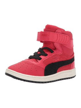 Red PUMA Boys Shoes