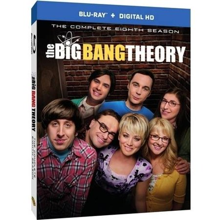 The Big Bang Theory  The Complete Eighth Season  Blu Ray   Digital Hd With Ultraviolet