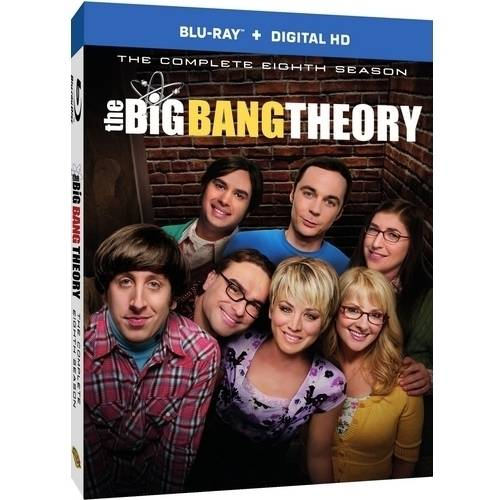 The Big Bang Theory: The Complete Eighth Season (Blu-ray   Digital HD With UltraViolet)