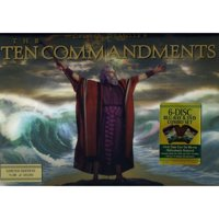 The Ten Commandments Gift Set (1923) (2-Disc Blu-ray + Standard DVD) (1956) (2-Disc Blu-ray + Standard DVD) (Widescreen)