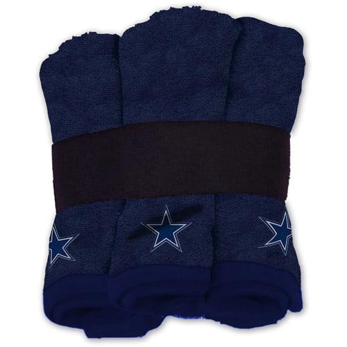 NFL Wash Cloth Set, 6pk, Dallas Cowboys