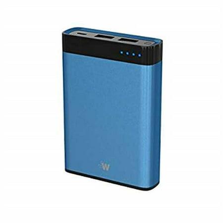 Just Wireless 10,000mAh 2-Port Power Bank - Blue