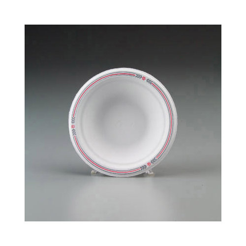CHINET Round Classic Molded Fiber Bowls in White