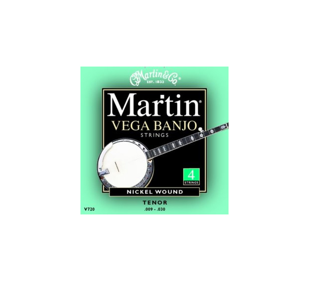 Martin V720 Vega 4 String Tenor Banjo Strings