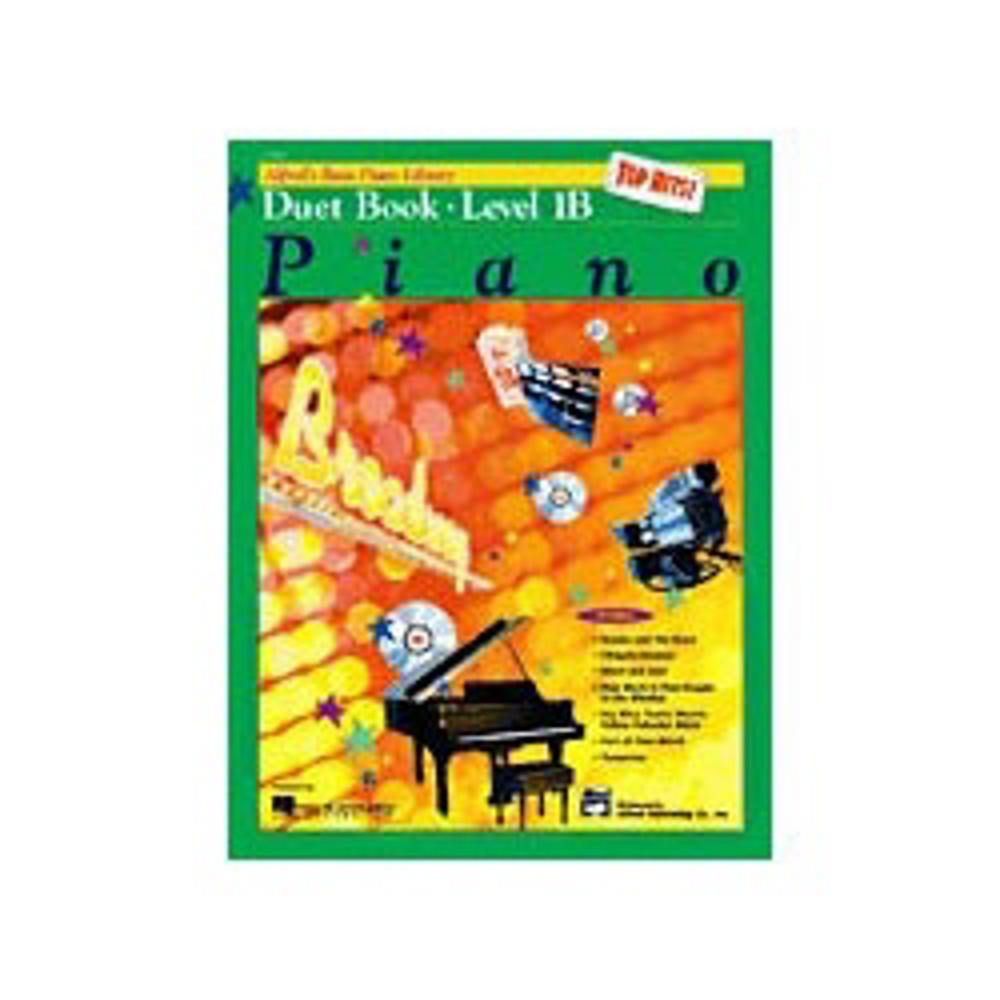 Alfred Basic Piano Course: Top Hits! Book 1B (Duets) by Alfred