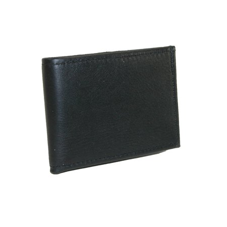 Mens Smooth Leather Billfold Wallet, Black