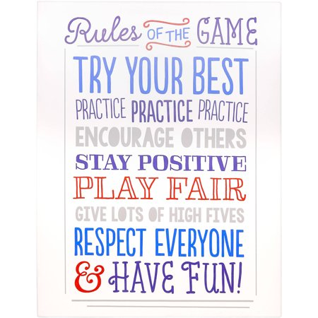 Tiny Ideas Rules of the Game Canvas - Beach Game Ideas