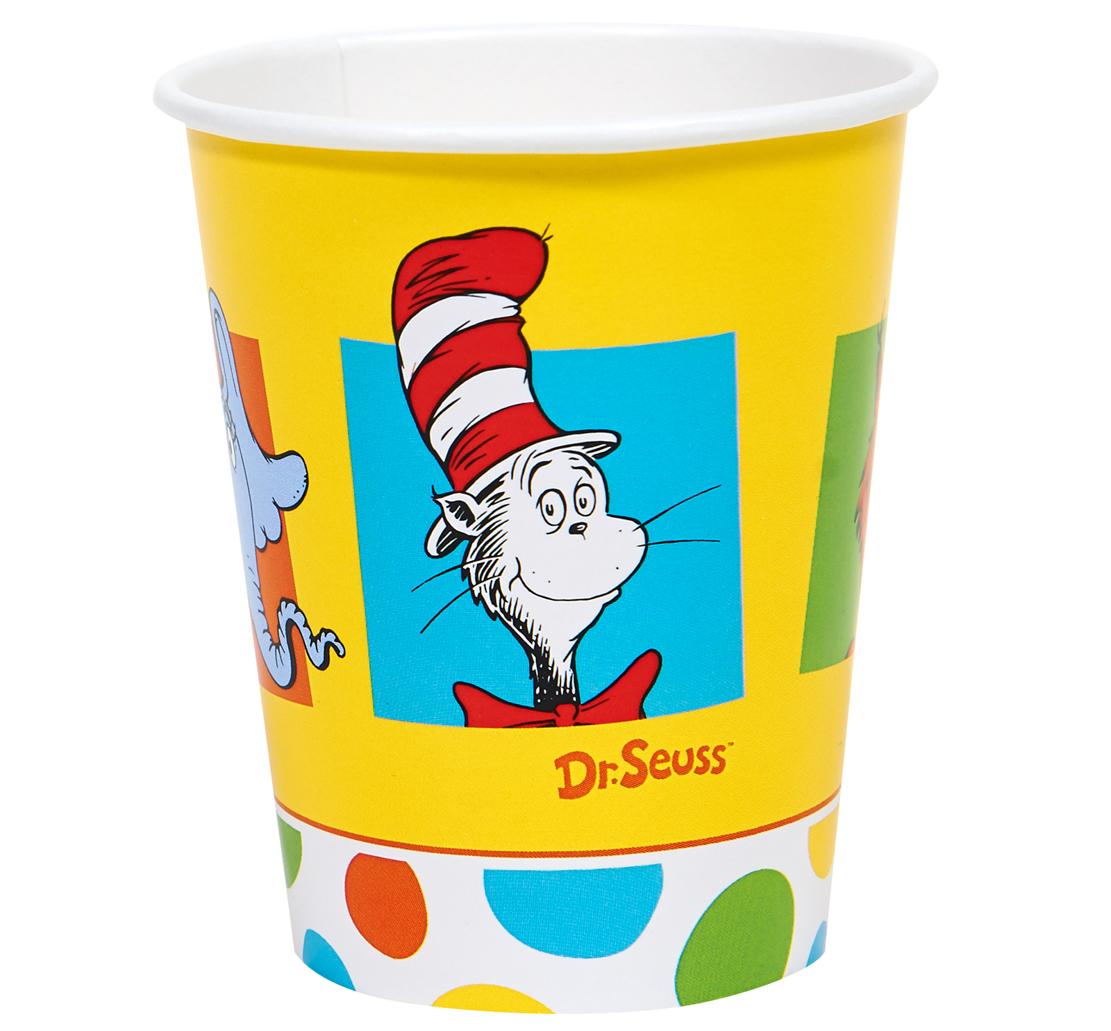 Dr Seuss Party Supplies Paper Cups for 8 AMZ ONLY