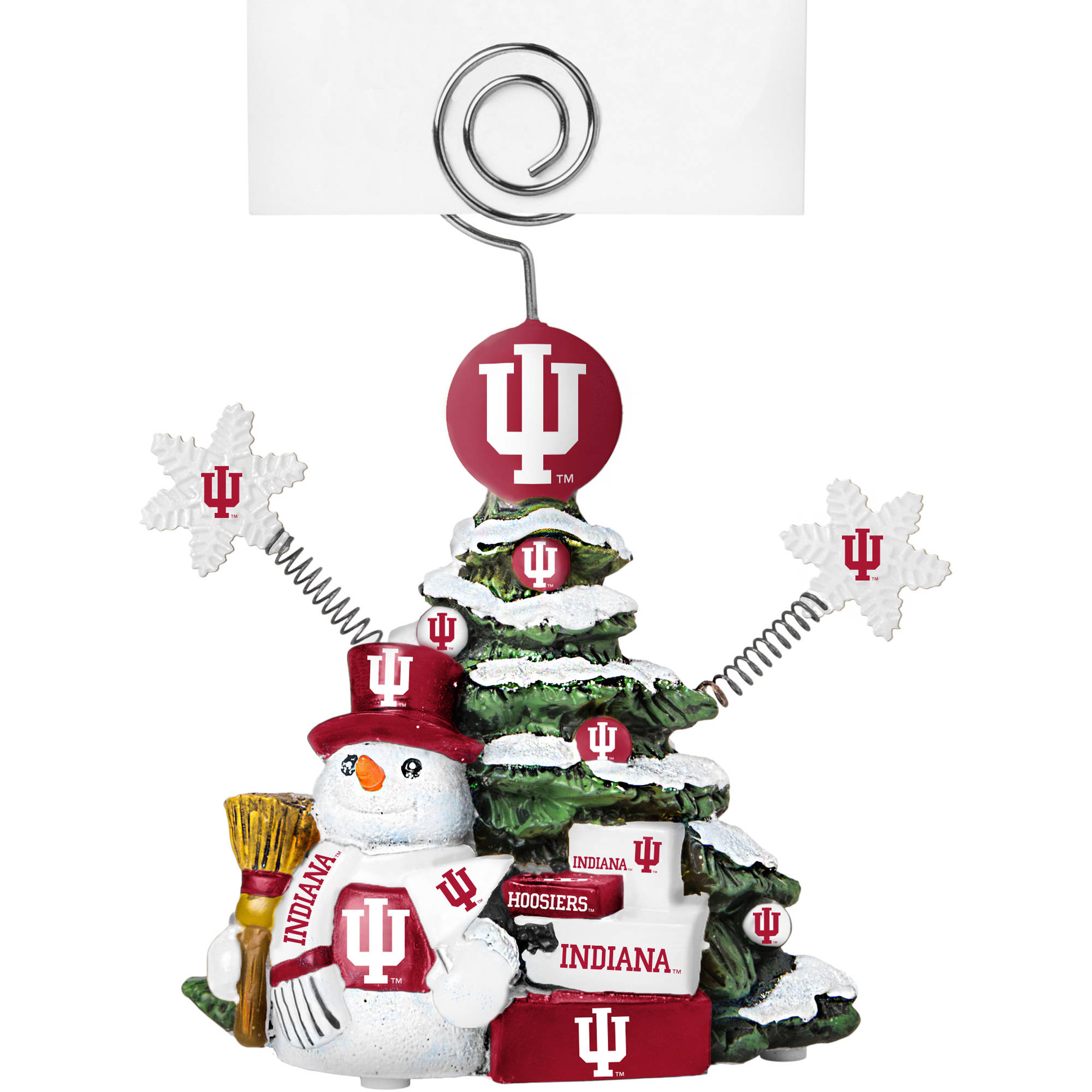 Topperscot by Boelter Brands NCAA Tree Photo Holder, Indiana University Hoosiers