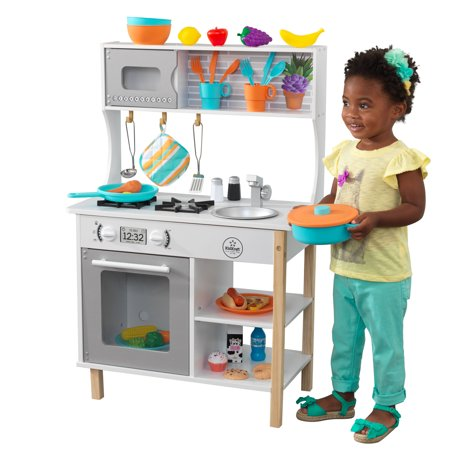 KidKraft All Time Play Kitchen with Accessories - Walmart.com