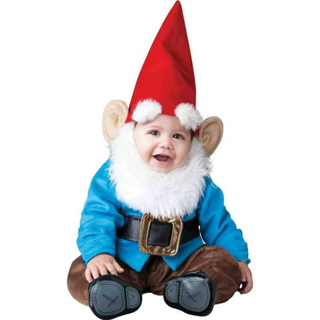 Little Garden Gnome Infant Halloween Costume (Halloween Costumes For Infants 3 6 Months)