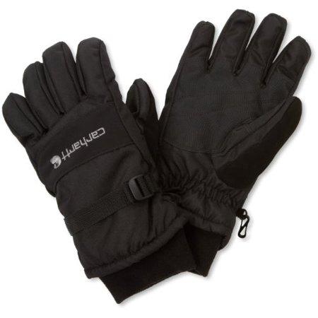 Carhartt Men's W.P. Waterproof Insulated Work Glove, Black, Medium Carhartt Knit Glove