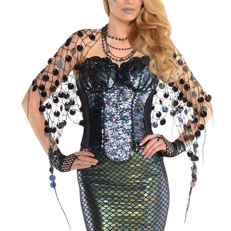 Adult Sea Siren Mermaid Net Wrap](Domo Suit)