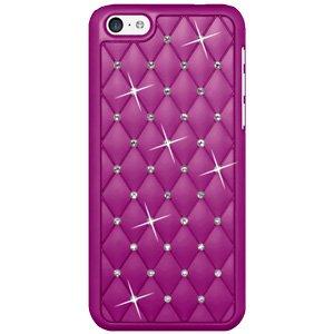Premium Diamond Lattice Snap On Hard Shell Case for Sprint iPhone 5C, iPhone 5C - Purple