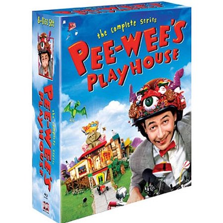 Pee Wees Playhouse  The Complete Series  Blu Ray   Full Frame