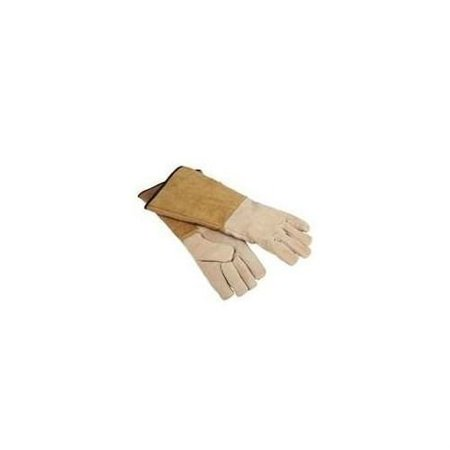Pigskin 16 Wood Stove Fireplace Protective Gloves CPA03110MM3L HomeBa