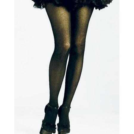 57fbec8c7c3 Fun World - Sexy Black 80 S Rocking Costume Pantyhose Stockings Tights Os -  Walmart.com