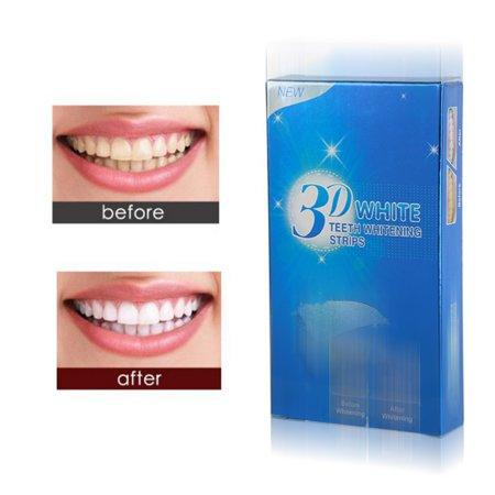 3D Advanced Whitening Strips Bleaching Ultra White 14 Pairs Professional  Teeth Whitening Strips Women Beautiful Whiter Smile