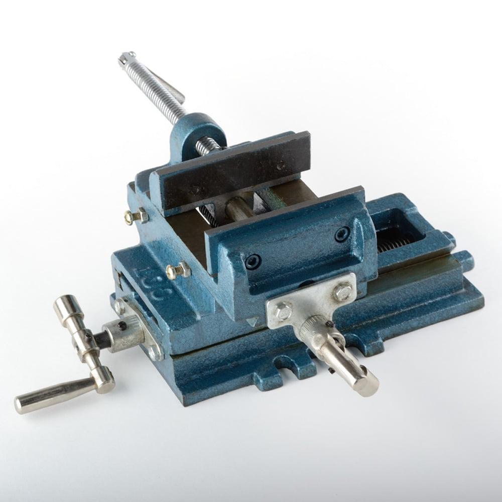 "4"" Cross Sliding Drill Vise Slide Machine Shop Heavy Duty..."