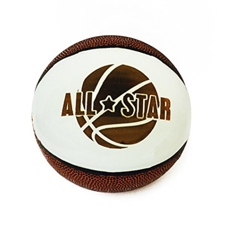 All Star 3D Laser Engraved Miniature Toy 5 inch Basketball (All Star)