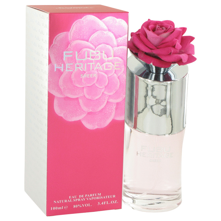 Heritage Sheer Eau De Parfum Spray 3.4 oz For Women 100% authentic perfect as a gift or just everyday use