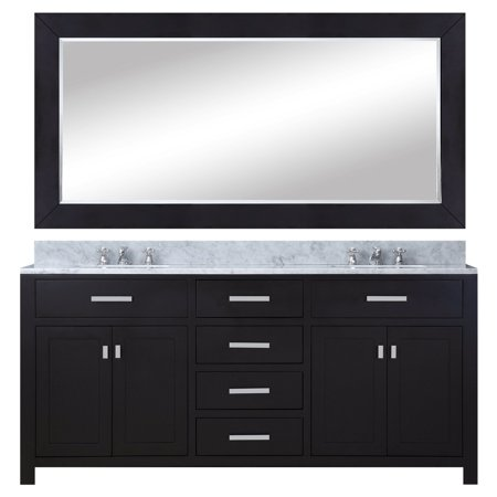 - Water Creation Madison 72 in. Double Bathroom Vanity