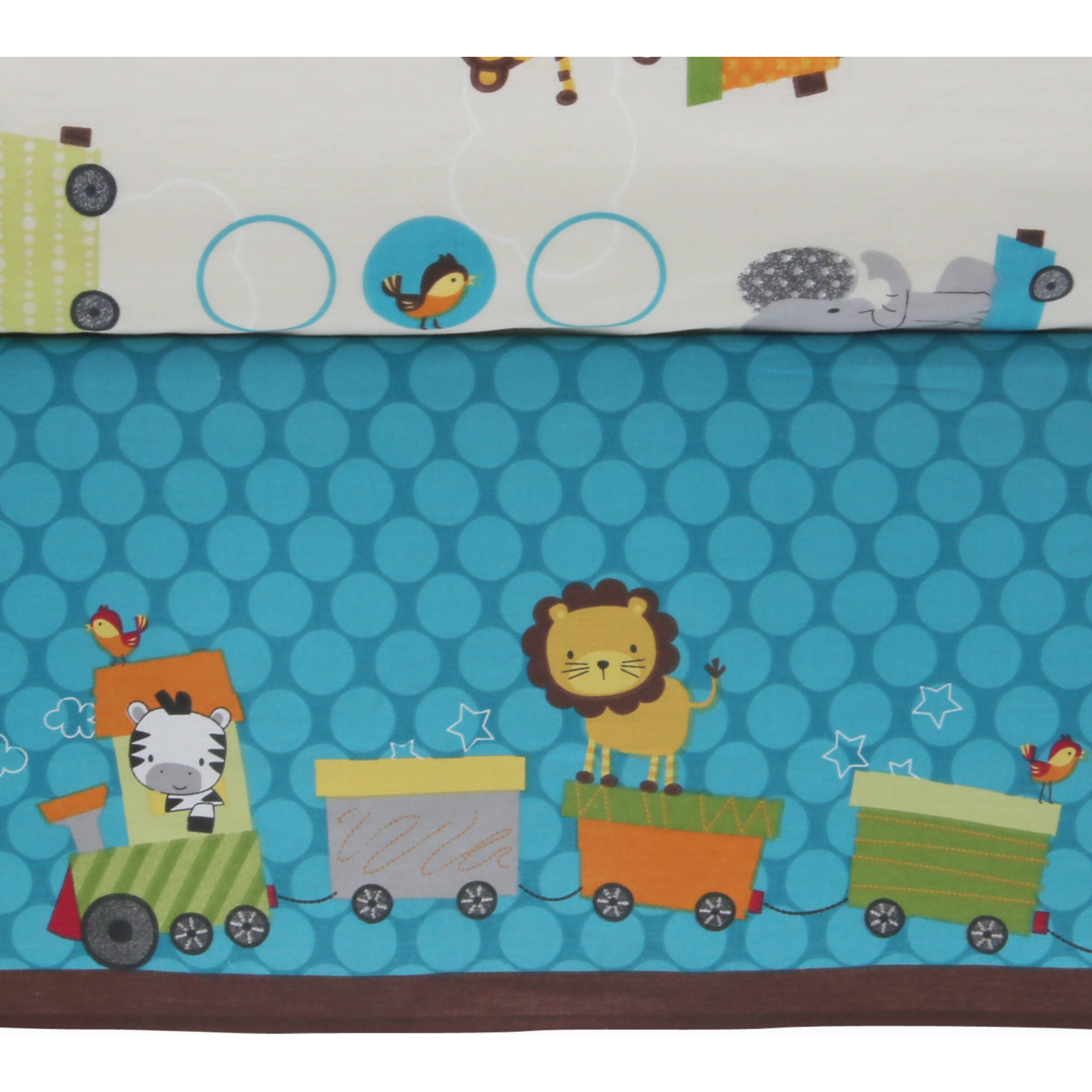Lambs Amp Ivy Bedtime Originals Animal Choo Choo Express 3 Piece Crib Set Best Crib Bedding Sets