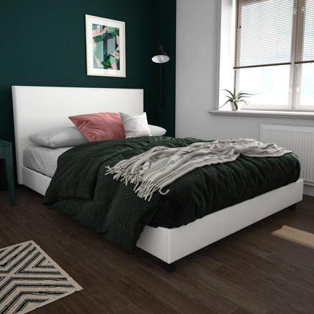 - Mainstays Upholstered Bed, Multiple Sizes and Colors