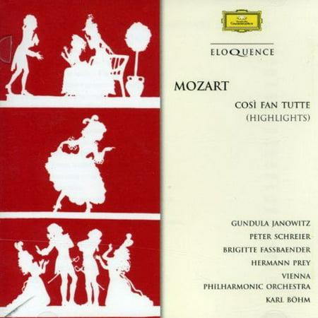 Mozart   Mozart  Cosi Fan Tutte  Highlights