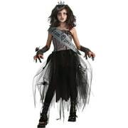 Girl's Gothic Prom Queen Halloween Costume