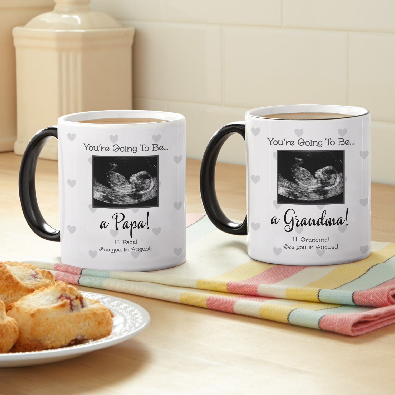 Personalized Ultrasound Announcement Photo Coffee Mug