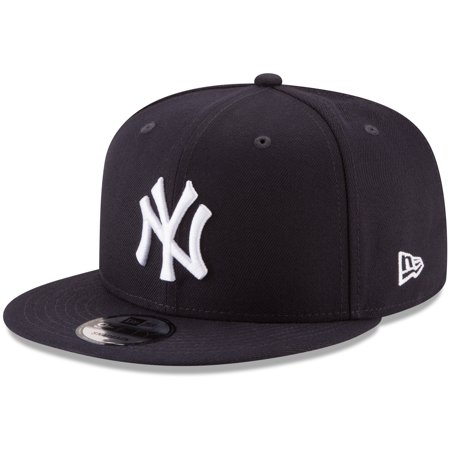 New York Yankees New Era Team Color 9FIFTY Snapback Hat - Navy - OSFA